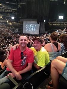 Robert attended Shania Twain: Now on Jul 17th 2018 via VetTix