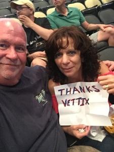 Gregory attended Shania Twain: Now on Jul 17th 2018 via VetTix
