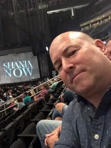 Patrick attended Shania Twain: Now on Jul 17th 2018 via VetTix