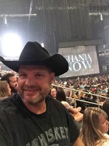 Mark attended Shania Twain: Now on Jul 17th 2018 via VetTix