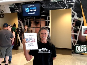 James attended Shania Twain: Now on Jul 17th 2018 via VetTix