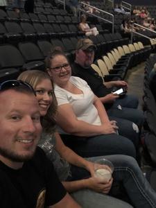 Brandon attended Shania Twain: Now on Jul 17th 2018 via VetTix