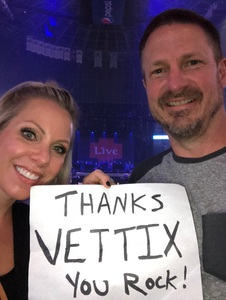 ERIC attended Counting Crows With Special Guest +live+: 25 Years and Counting on Jul 18th 2018 via VetTix