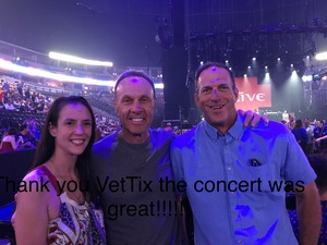 Jason attended Counting Crows With Special Guest +live+: 25 Years and Counting on Jul 18th 2018 via VetTix