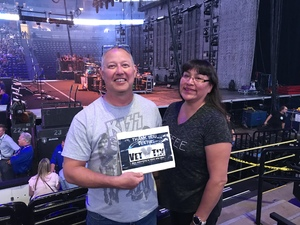 Sean attended Counting Crows With Special Guest +live+: 25 Years and Counting on Jul 18th 2018 via VetTix