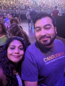 cynthia attended Counting Crows With Special Guest +live+: 25 Years and Counting on Jul 18th 2018 via VetTix