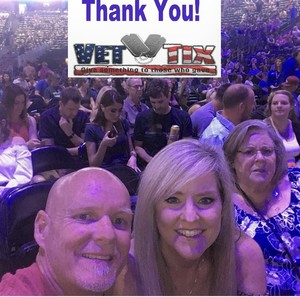 Jonathan attended Counting Crows With Special Guest +live+: 25 Years and Counting on Jul 18th 2018 via VetTix