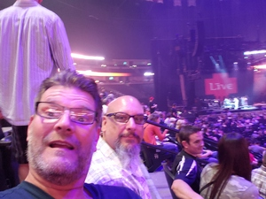 Jeff attended Counting Crows With Special Guest +live+: 25 Years and Counting on Jul 18th 2018 via VetTix