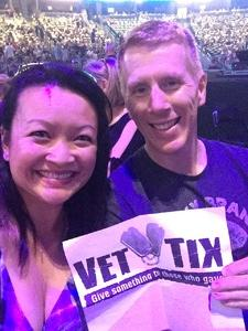 Daniel attended Counting Crows With Special Guest +live+: 25 Years and Counting on Jul 18th 2018 via VetTix