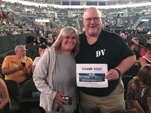 Jim attended Journey and Def Leppard - Live in Concert on Jul 18th 2018 via VetTix