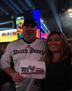 Kelly attended Journey and Def Leppard - Live in Concert on Jul 18th 2018 via VetTix