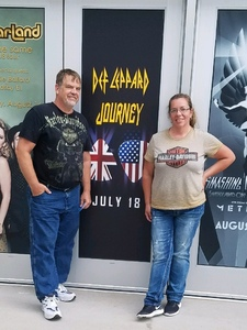 Michael attended Journey and Def Leppard - Live in Concert on Jul 18th 2018 via VetTix