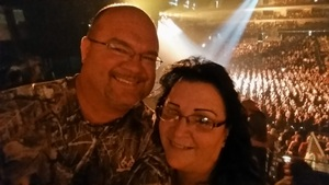 Mr. and Mrs. Hendricks attended Journey and Def Leppard - Live in Concert on Jul 18th 2018 via VetTix