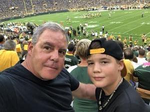John attended Green Bay Packers vs. Pittsburgh Steelers - NFL Preseason on Aug 16th 2018 via VetTix