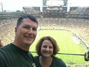 Richard attended Green Bay Packers vs. Pittsburgh Steelers - NFL Preseason on Aug 16th 2018 via VetTix