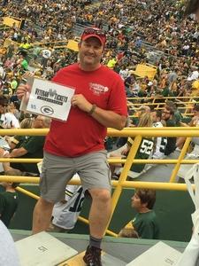 Rusty attended Green Bay Packers vs. Pittsburgh Steelers - NFL Preseason on Aug 16th 2018 via VetTix