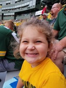Blake attended Green Bay Packers vs. Pittsburgh Steelers - NFL Preseason on Aug 16th 2018 via VetTix