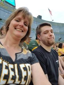Kristi attended Green Bay Packers vs. Pittsburgh Steelers - NFL Preseason on Aug 16th 2018 via VetTix