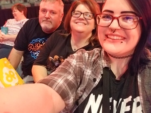 Rusty attended Sugarland on Jul 19th 2018 via VetTix
