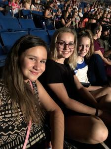 Marshall attended Sugarland on Jul 19th 2018 via VetTix