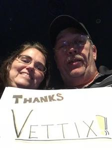 Edgar attended Sugarland on Jul 20th 2018 via VetTix