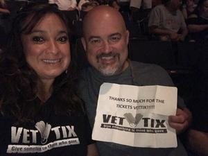 Leticia attended Sugarland on Jul 20th 2018 via VetTix