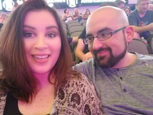 Patrick attended Sugarland on Jul 20th 2018 via VetTix