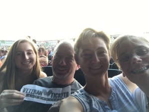 Adron attended Sugarland on Jul 20th 2018 via VetTix