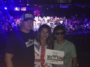 STEVEN attended Iron Boy Boxing on Aug 11th 2018 via VetTix