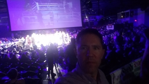 Darrin attended Iron Boy Boxing on Aug 11th 2018 via VetTix