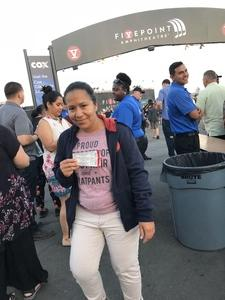 Leslie attended Pentatonix on Jul 19th 2018 via VetTix