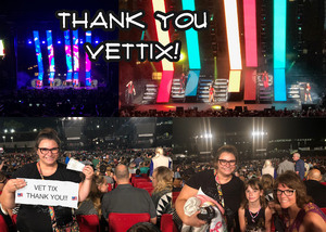 Andy attended Pentatonix on Jul 19th 2018 via VetTix