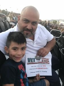 John attended Pentatonix on Jul 19th 2018 via VetTix