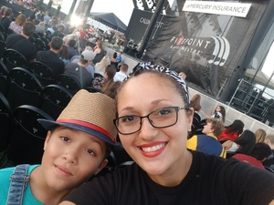 ILIANA attended Pentatonix on Jul 19th 2018 via VetTix