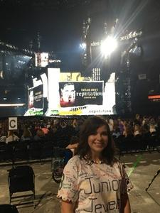 Serena attended Taylor Swift Reputation Tour on Sep 22nd 2018 via VetTix