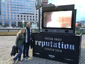 Darren attended Taylor Swift Reputation Tour on Sep 22nd 2018 via VetTix