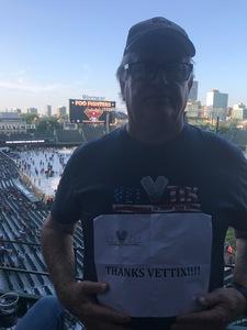 Richard attended Foo Fighters on Jul 30th 2018 via VetTix