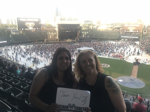 Dolores attended Foo Fighters on Jul 30th 2018 via VetTix