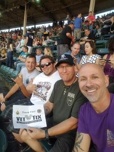 Mike attended Foo Fighters on Jul 30th 2018 via VetTix