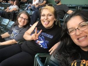 Elsa attended Foo Fighters on Jul 30th 2018 via VetTix