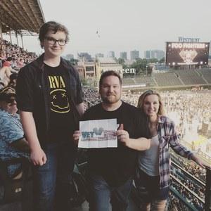 Adam attended Foo Fighters on Jul 30th 2018 via VetTix