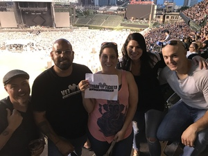 Felix attended Foo Fighters on Jul 30th 2018 via VetTix