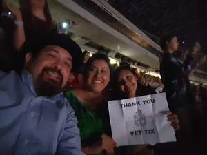 Daniel attended Taylor Swift Reputation Tour on Sep 29th 2018 via VetTix