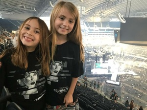 Ellis attended Taylor Swift Reputation Tour on Oct 5th 2018 via VetTix