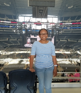 Romelyn attended Taylor Swift Reputation Tour on Oct 5th 2018 via VetTix