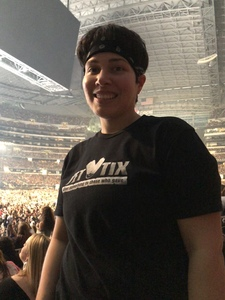 Jessica attended Taylor Swift Reputation Tour on Oct 5th 2018 via VetTix