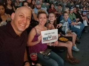 Mindy attended Taylor Swift Reputation Tour on Oct 6th 2018 via VetTix