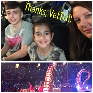 JAMES attended Taylor Swift Reputation Tour on Oct 6th 2018 via VetTix