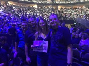 Justin attended Foreigner @ Pepsi Center on Jul 24th 2018 via VetTix