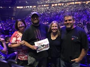 Brian attended Foreigner @ Pepsi Center on Jul 24th 2018 via VetTix